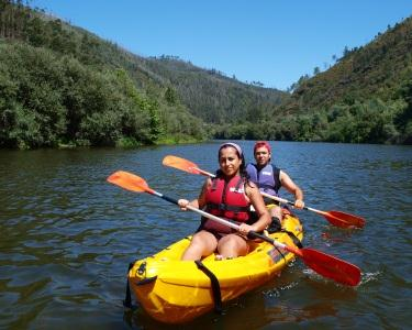 Programa para Todas as Idades   Canoagem Beginner pelo Rio Tâmega