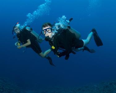 Passeio de Barco & Mergulho no Mar