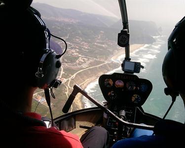 Voo de Helicóptero - Baía de Cascais