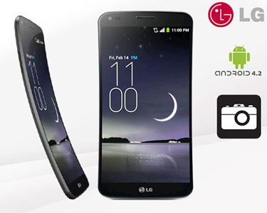 Smartphone LG G Flex | 13MP, 32GB, Prateado