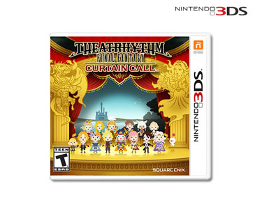 Jogo Nintendo 3DS | Theatrhythm Final Fantasy Curtain Call