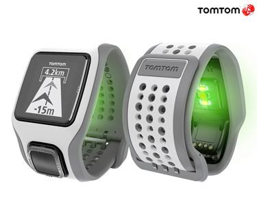 Relógio Desportivo com Monitor de Ritmo Cardíaco e GPS - TomTom® Runner Cardio