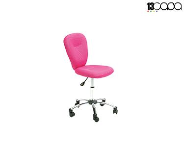 Cadeira de Escritório | Rosa