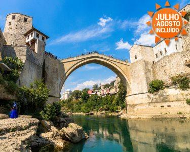 Circuito Croácia, Bósnia-Herzegovina e Montenegro | Voos + 7 Noites
