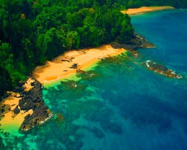 Verão em São Tomé & Ilhéu das Rolas   Voos + 7 Noites