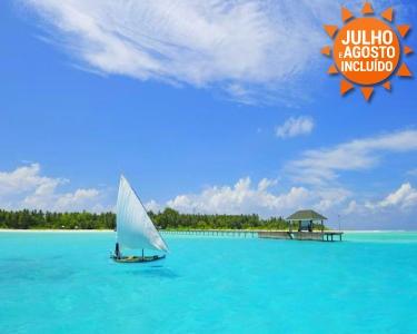 Ver��o de Sonho! Maldivas   Voos + 7 Noites