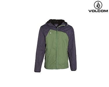 Corta-Vento Volcom® Raingo Lined | Verde e Azul