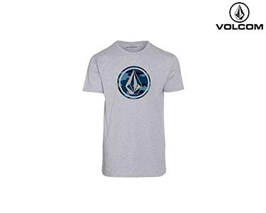 T-shirt Volcom® Camo Stone Basic | Cinza
