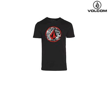 T-shirt Volcom® Punk Circle | Preto