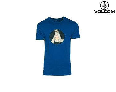 T-shirt Volcom® Triad Lightweight | Azul Escuro