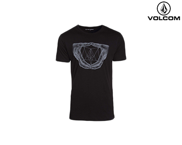 T-shirt Volcom® Witcher | Preto