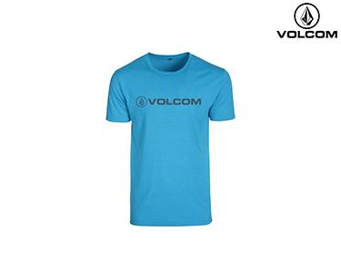 T-shirt Volcom® Afron | Azul Ciano