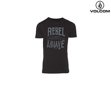 T-shirt Volcom® Rebel | Preto