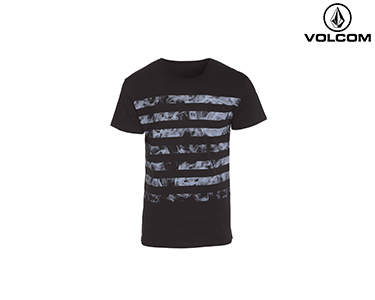 T-shirt Volcom® Death Ray  | Preto
