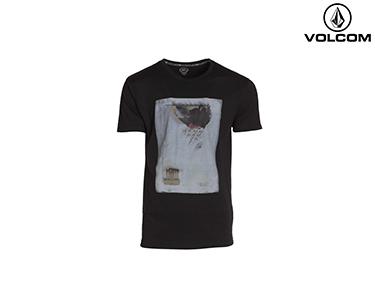 T-shirt Volcom® Dan Eldon Fa Plato | Preto