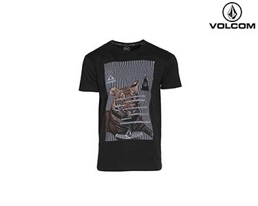 T-shirt Volcom® Fa Aaron Mason Tiger | Preto
