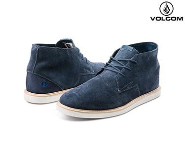 Sapatos de Couro Volcom® Del Mesa | Azul Escuro