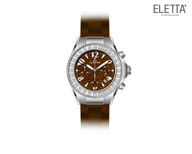 Relógio Eletta® Vilamoura | Castanho