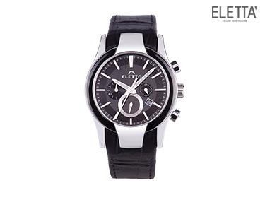 Relógio Eletta® Glam XXl | Preto