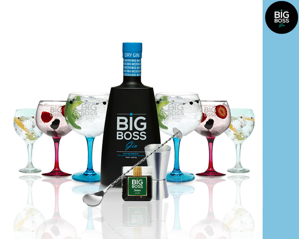 Gin Big Boss® | 6 Copos & 4 Acessórios