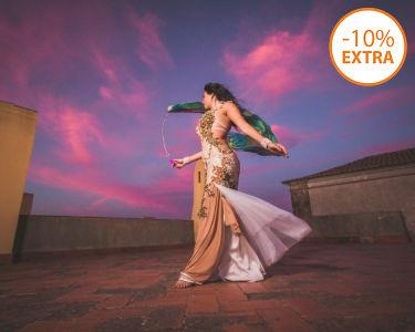 1 Mês de Aulas de Dança Oriental | Dançattitude em Lisboa | 1 ou 2x/Semana