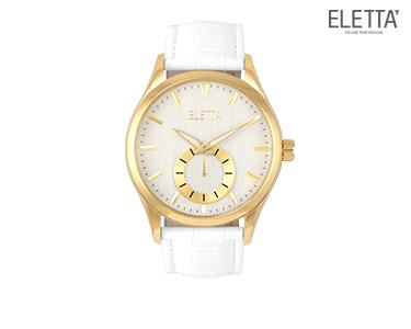 Relógio Eletta® Prestige | Branco e Dourado