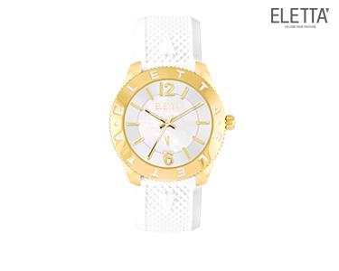 Relógio Eletta® Inspire | Branco e Dourado