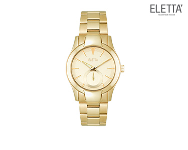 Relógio Eletta® Glam | Dourado