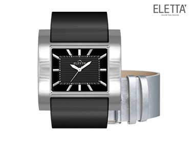 Relógio Eletta® Slide | Preto