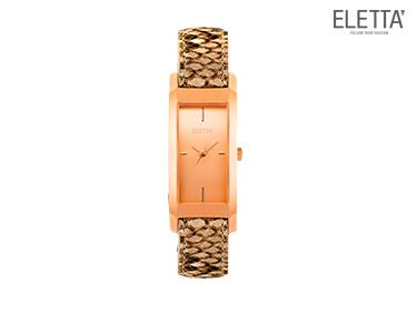 Relógio Eletta® Elegance | Cobreado