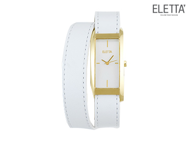 Relógio Eletta® Elegance | Branco