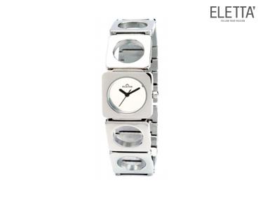 Relógio Eletta® Tróia | Prateado e Branco