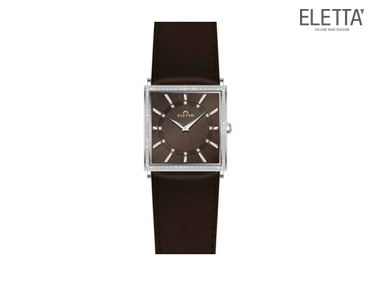 Relógio Eletta® Ferrara | Castanho
