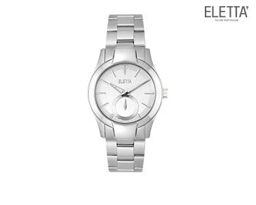 Relógio Eletta® Glam | Prateado