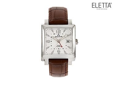 Relógio Eletta® Lisboa   Castanho