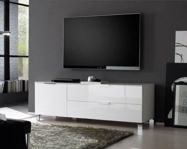 Móvel TV Ribalta com 1 Porta e 1 Gaveta   158 cm