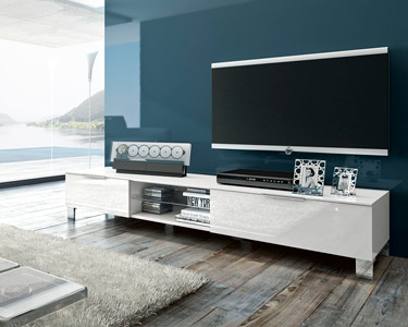 Móvel TV Ribalta com 2 Portas e 1 Prateleira | 180 cm