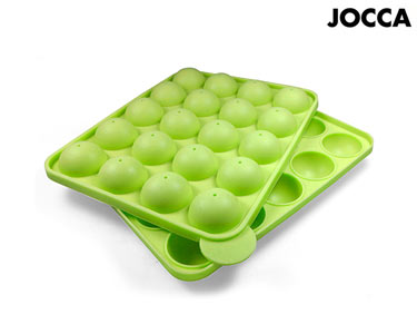 Molde p/ Cake Pops em Silicone Jocca® Q-Max