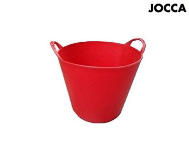 Vaso de Plástico Vermelho Jocca® | 42 Litros