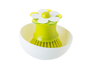 Escova c/ Base Vigar® | Verde e Branco