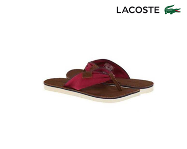 Chinelos Lacoste® Maridell Mulher | Rosa