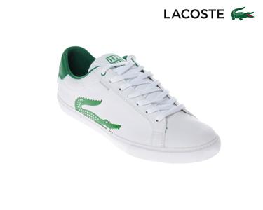 Ténis Lacoste® Grad Homem | Branco e Verde