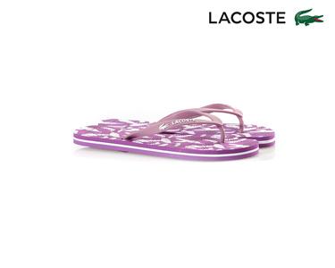 Chinelos Lacoste® Ancelle Fun Mulher | Rosa e Branco