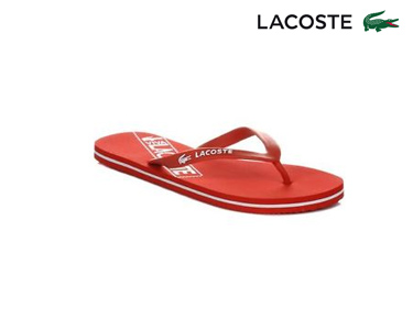Chinelos Lacoste® Ancelle Mulher | Vermelho