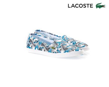 Alpargatas Lacoste® Marice Fun   Azul e Branco