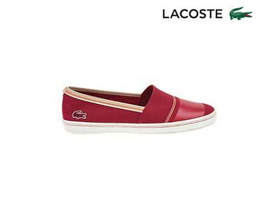 Alpargatas Lacoste® Aimard Homem | Vermelho