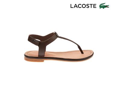Sandálias  Lacoste® Lortenia Mulher | Castanho Escuro