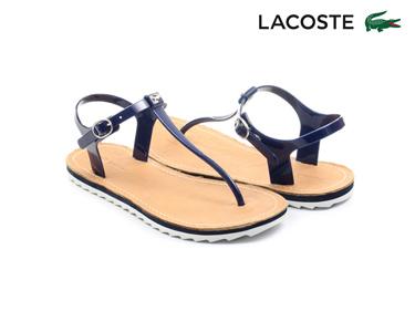 Sandálias Lacoste® Luzerne Mulher | Azul Escuro