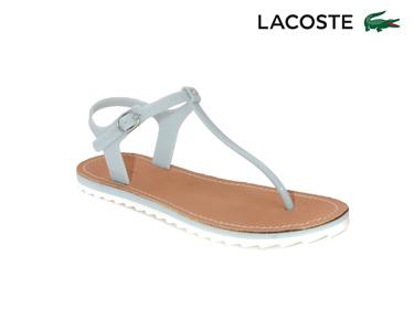 Sandálias Lacoste® Luzerne Mulher   Azul Claro