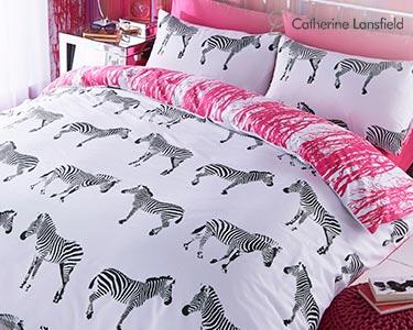Jogo de Cama Funky Zebra | Tamanhos à Escolha